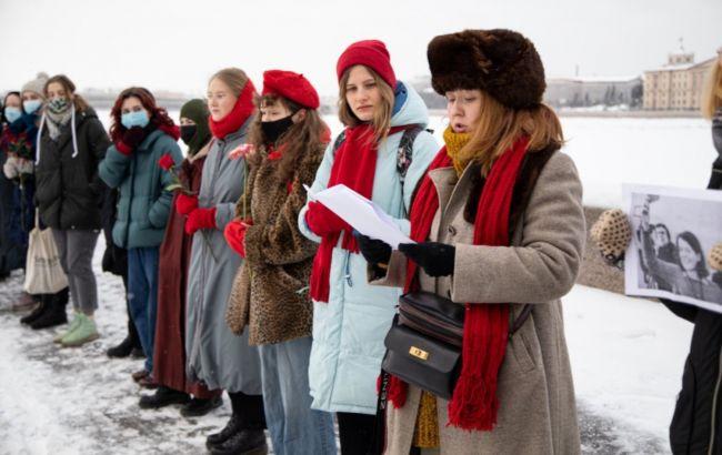 У Росії поновилися акції проти політичних репресій, є затримання