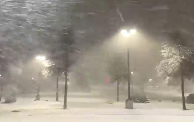 У США через снігову бурю загинули майже 50 осіб