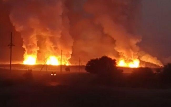 На военных складах в Казахстане произошел взрыв