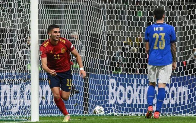 Испания обыграла Италию и стала первым финалистом Лиги наций