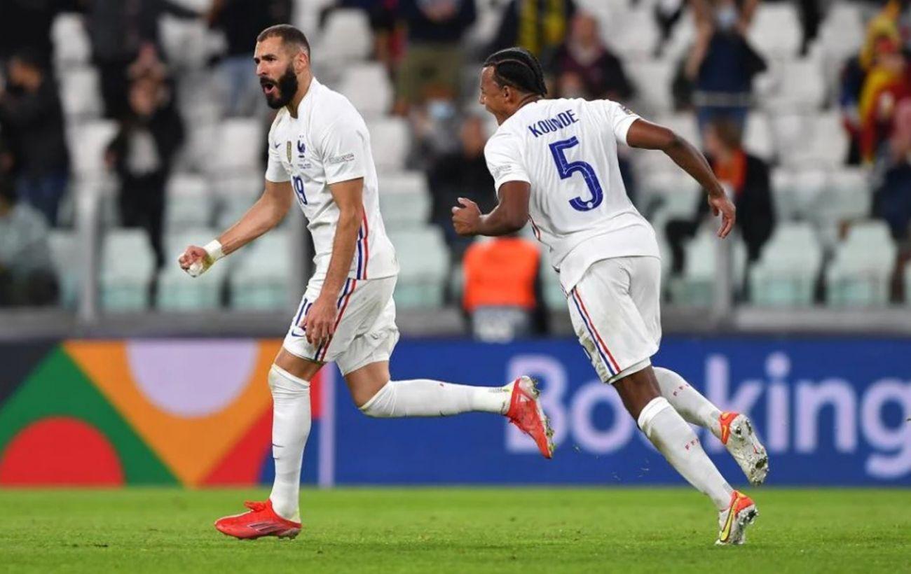 Франция обыграла Бельгию и вышла в финал Лиги наций в матче с двумя разными таймами