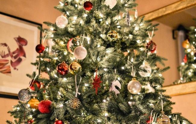 Как выглядит самая дорогая новогодняя елка Европы (фото, видео)