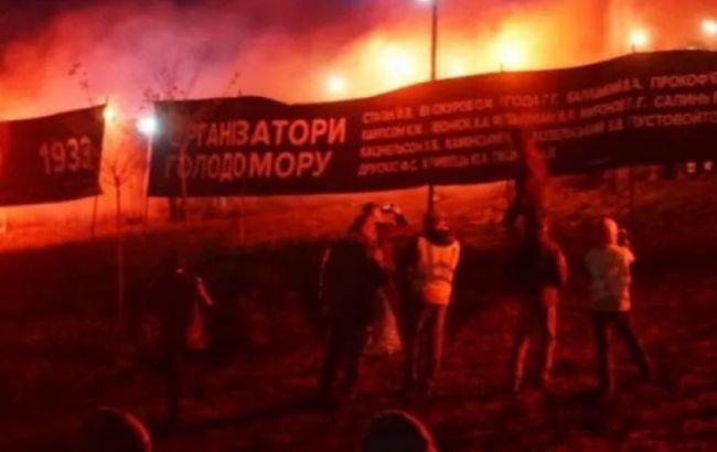 У Харкові стались сутички біля Меморіалу жертвам Голодомору