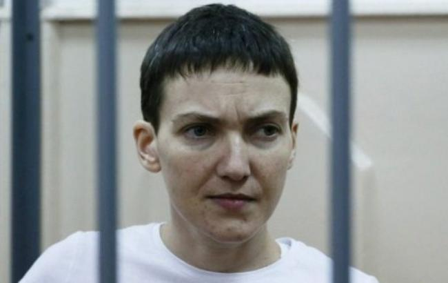Російський суд продовжив арешт Савченко на 6 місяців