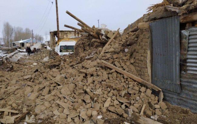 На границе Турции и Ирана произошло сильное землетрясение, есть жертвы