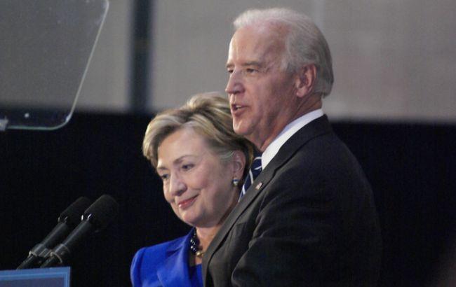 Клінтон підтримала Байдена на виборах президента США