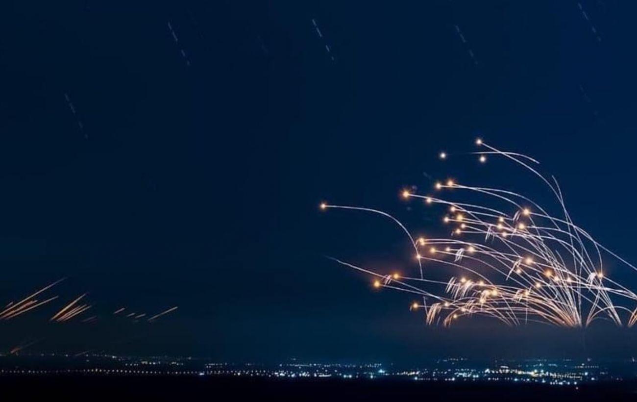 За десять минут из Газы по Израилю выпустили сотни ракет: были слышны десятки взрывов