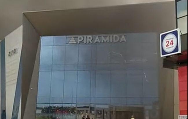 Пожежа у торгівельному центрі в Києві призвела до викиду чорного диму