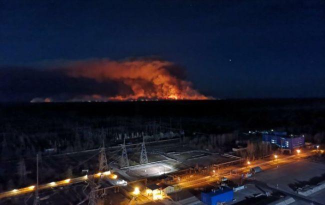 Пожежі у Зоні відчуження не зашкодили у Чорнобильській АЕС