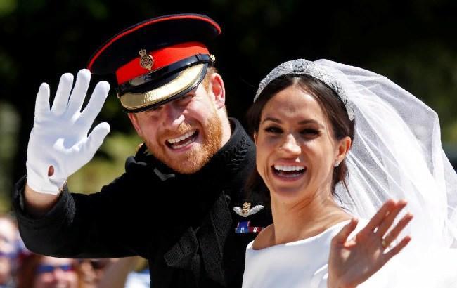 Українське посольство в Британії по-особливому привітало принца Гаррі і Меган Маркл