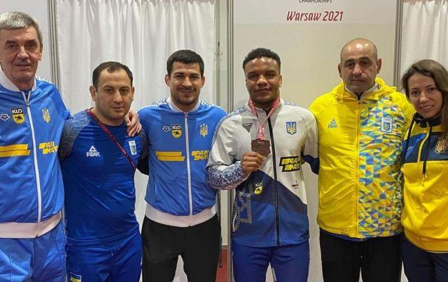 Жан Беленюк виграв бронзу на чемпіонаті Європи
