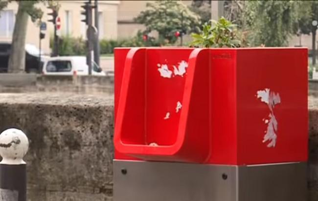 """""""Абсолютно неприйнятно"""": на вулицях Парижа з'явилися екологічні пісуари"""