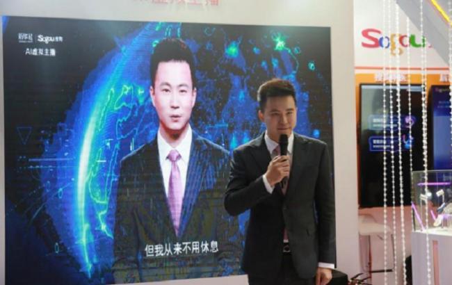 Круче Софии: в Китае презентовали реалистичного робота-телеведущего