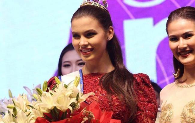 Українка перемогла у престижному міжнародному конкурсі супермоделей