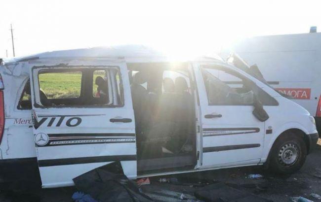 Пьяный водитель устроил ДТП на Запорожье: один человек погиб, еще шесть пострадали