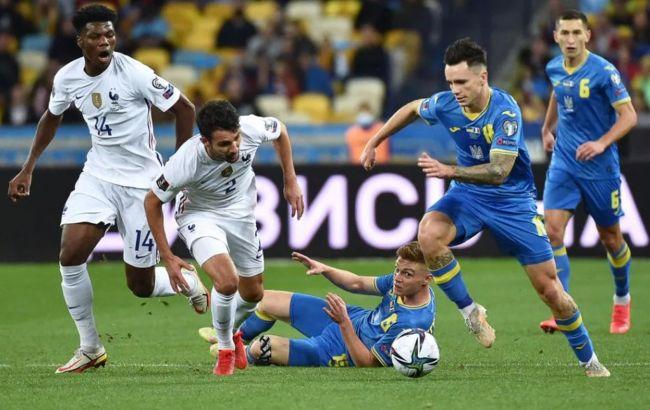 Украина и Франция вновь расписали ничью в отборе на ЧМ-2022