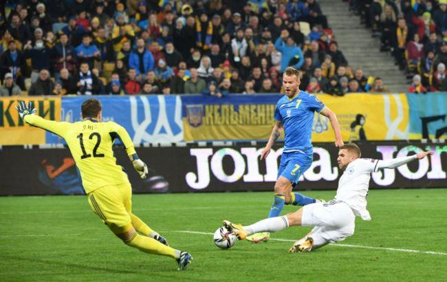 Украина не удержала победу над Боснией. Интрига в борьбе за плей-офф отбора на ЧМ сохраняется