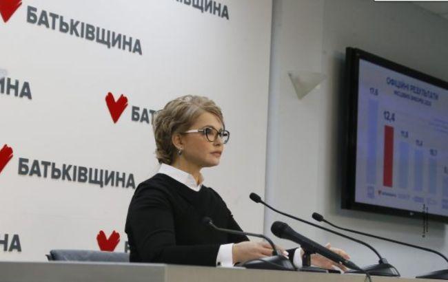 """НАЗК позбавило """"Батьківщину""""державного фінансування"""