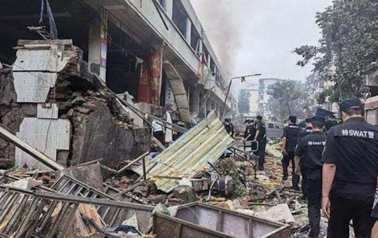 На рынке в Китае произошел взрыв: 25 человек погибли