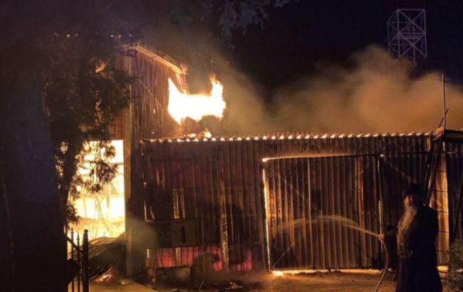 Полиция нашла предполагаемого поджигателя монастыря УПЦ МП в Одессе