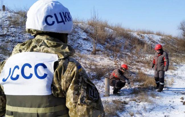 """ОБСЄ повідомила про 88 порушень """"тиші"""" на Донбасі за добу"""