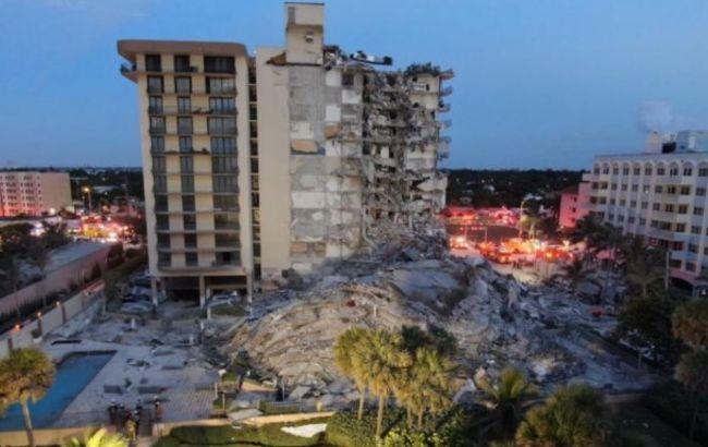 Число жертв обрушения дома в Майами выросло до 12