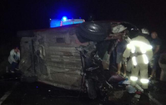 В Николаевской области в ДТП с автобусом погибли двое детей