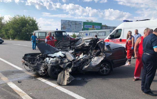 На трассе Одесса-Рени в ДТП погибли четверо людей