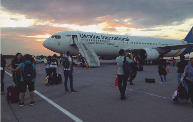 Boeing 767 МАУ совершил вынужденную посадку в аэропорту Борисполь