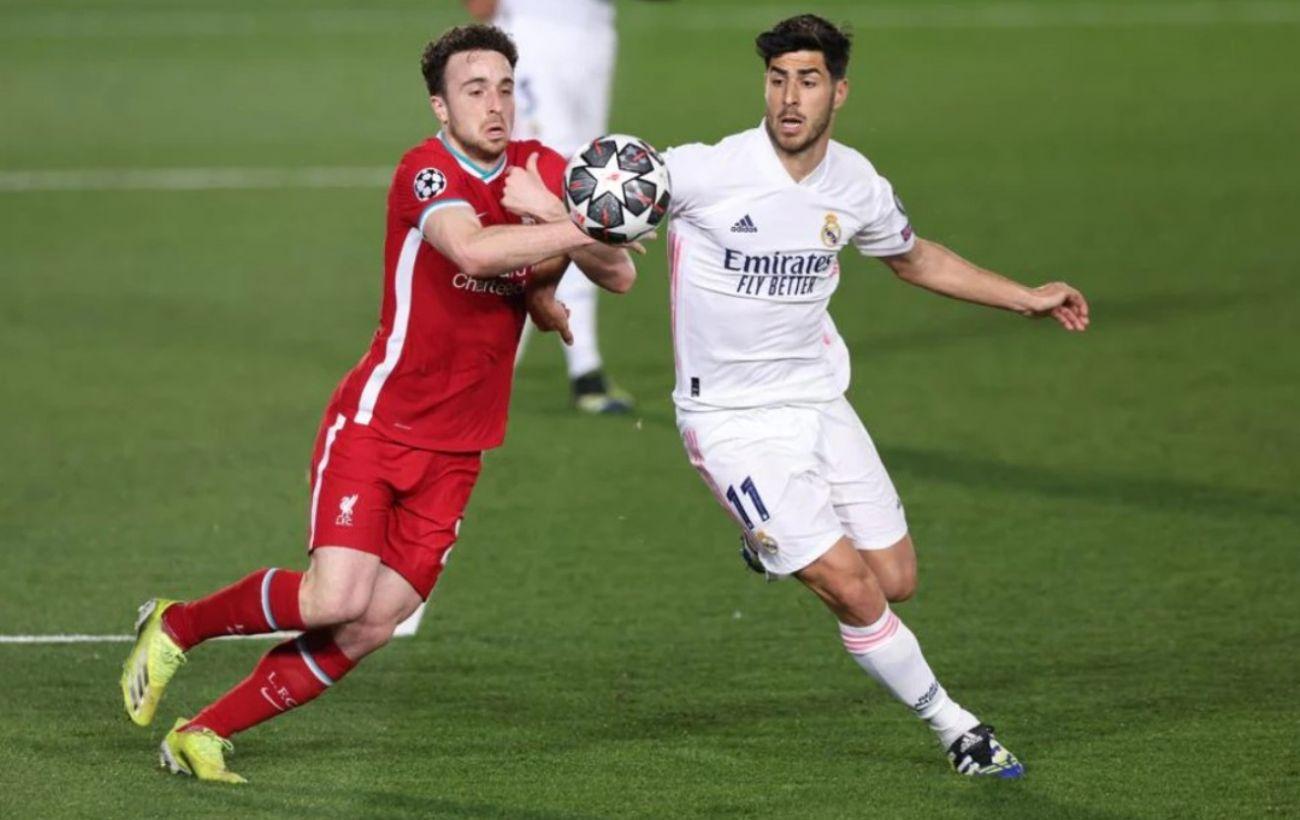 «Реал» оказался сильнее «Ливерпуля» в первом матче 1/4 финала ЛЧ