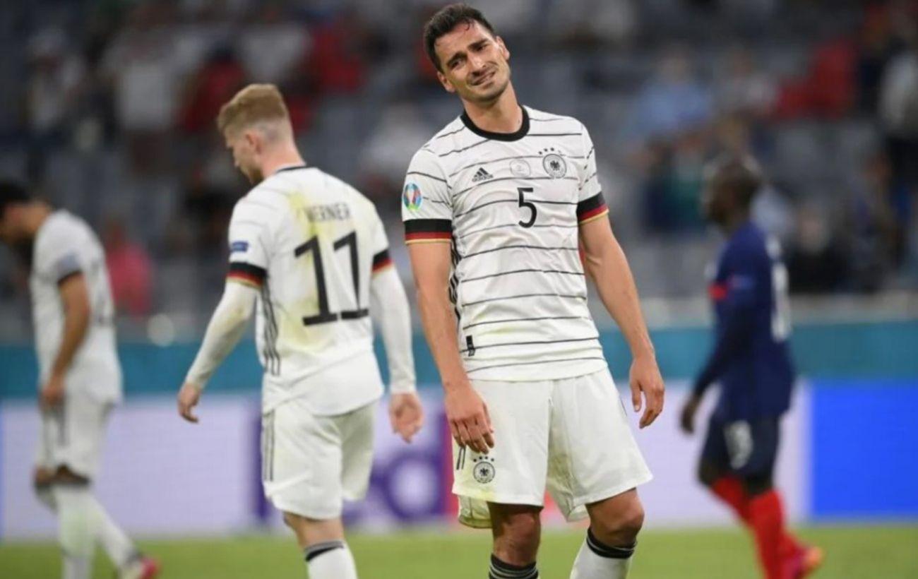 Автогол и два отмененных гола: Франция минимально обыграла Германию