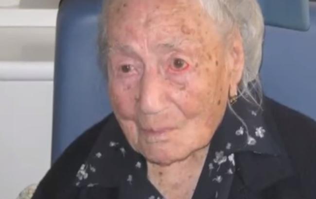 Найстарша жителька Європи померла