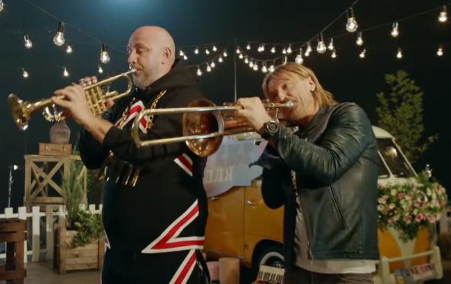 Фото: Потап та Олег Винник (Скріншот з відео)