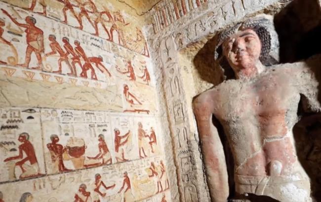 Археологи обнаружили уникальную гробницу: захватывающее видео