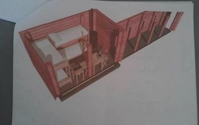 Фото: проект криївки, яку будуть відновлювати (фото робочої групи)