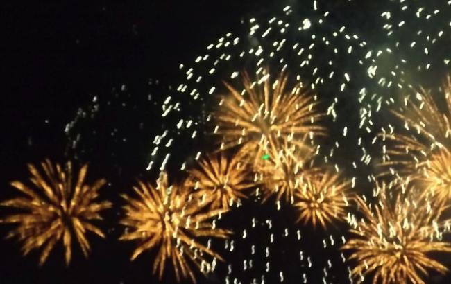 Фото: у небі Одеси розквітли феєрверки (facebook.com/OdessaCT)