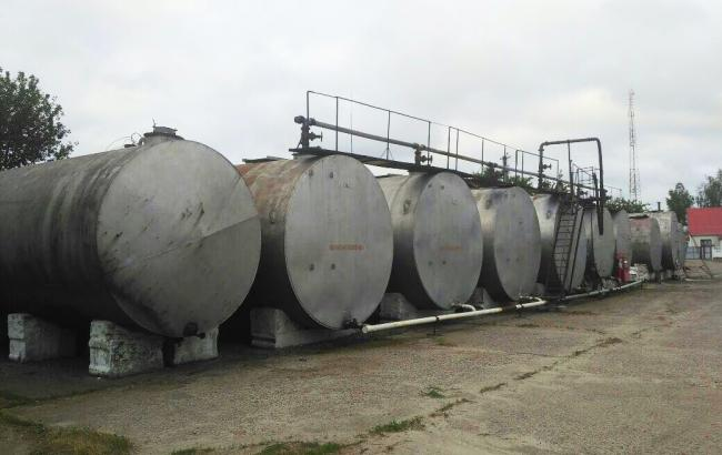 Фото: в Одесской области выявлена подпольная нефтебаза