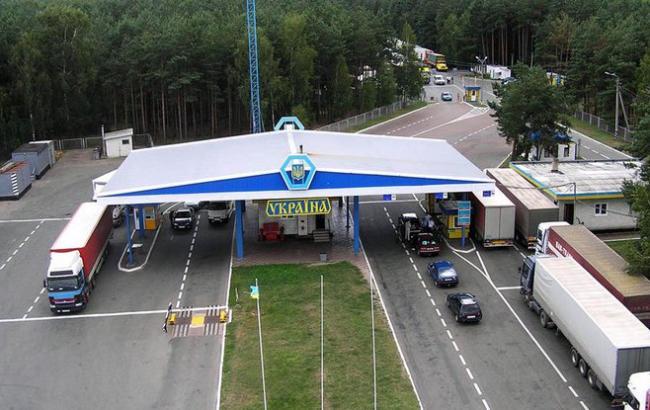 Фото: украинско-польская граница