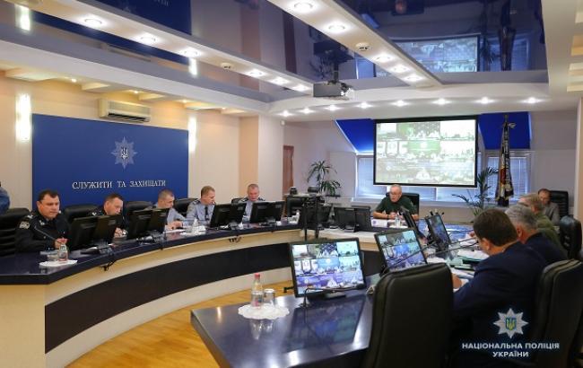 """Фото: совещание по подведению итогов оперативно-профилактических мероприятий под условным названием """"Мигрант"""" (npu.gov.ua)"""