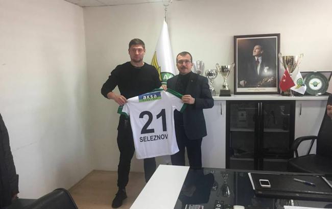 Селезнев забил дебютный гол заАкхисар