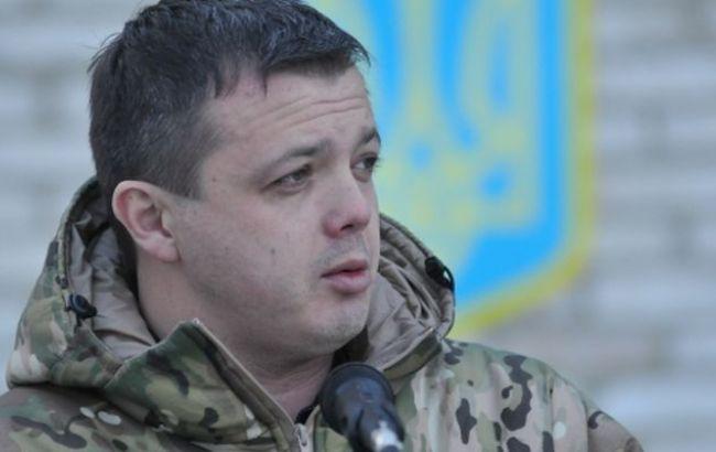 """Батальону """"Донбасс"""" приказали покинуть зону АТО, - Семенченко"""