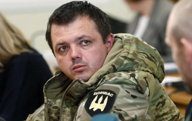 Семен Семенченко - командир батальона Донбасс