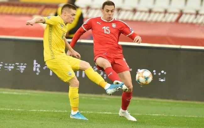 Визначено найкращого гравця збірної України в матчі з Сербією