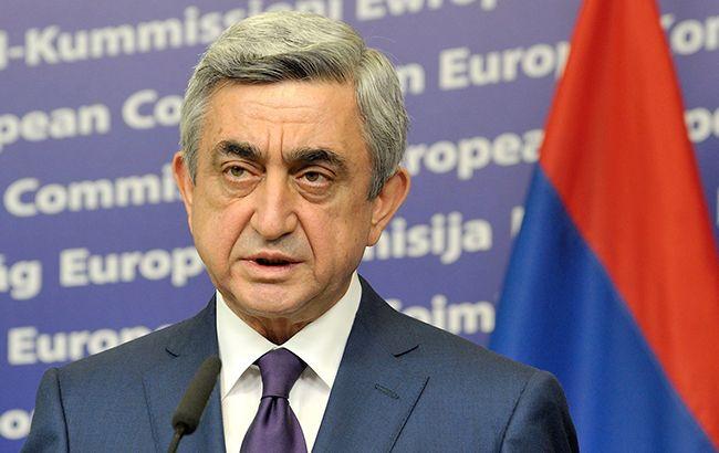 Саргсян допускает начало полномасштабной войны в Нагорном Карабахе