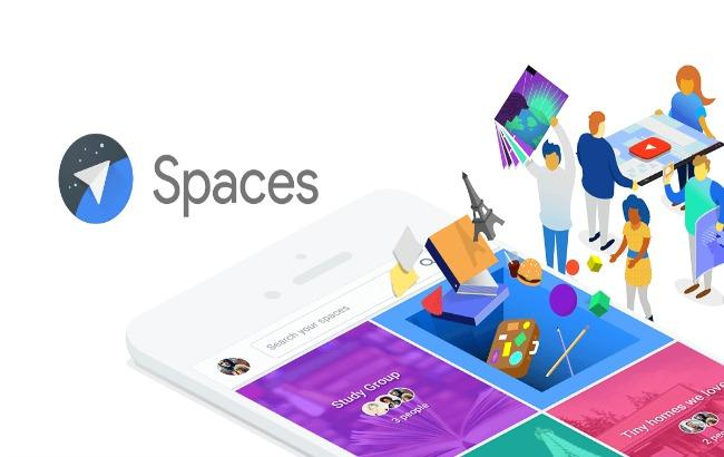 Фото: новий месенджер Spaces (get.google.com)