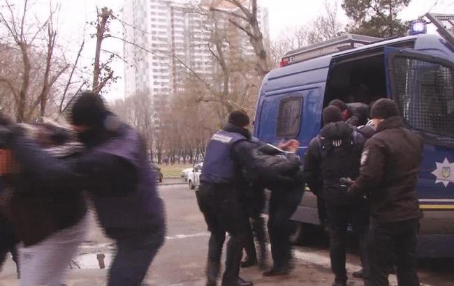 В Одессе полиция задержала 8 человек из-за столкновения с госслужащими