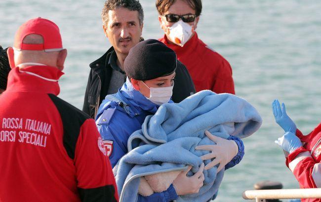 Загибель порома в Середземному морі