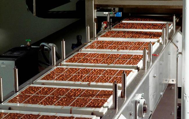 Фото: производство шоколада падает