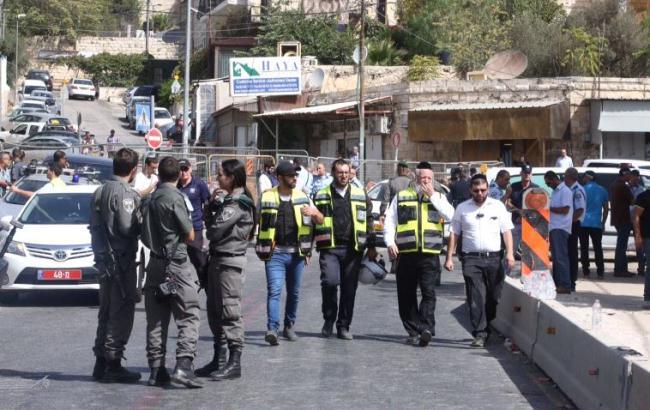Фото: теракт в Иерусалиме