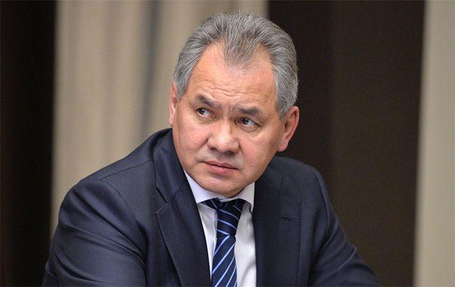 Фото: глава Міноборони РФ Сергій Шойгу